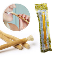 Set Of 12 Fresh Natural Toothbrush Misvak Miswak Arak, Siwak, Miswaak مسواك طيبة  , Travel Toothbrush , Soft Tootbrush