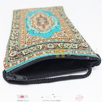 Turkish Purse Unisex Money Pouch Travel Passport ID Card Phone Holder Neck Wallet Bag Passport Holder