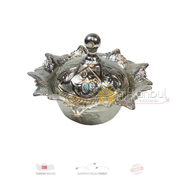 Turkish Delight and Sugar Bowl id Decorative Authentic Medieval Style Wedding Gift