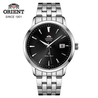 100% Original ORIENT Men's Watch Automatic Mechanical Watch Leather Strap Fashion 5 Bar Waterproof  Bussiness Wristwatches