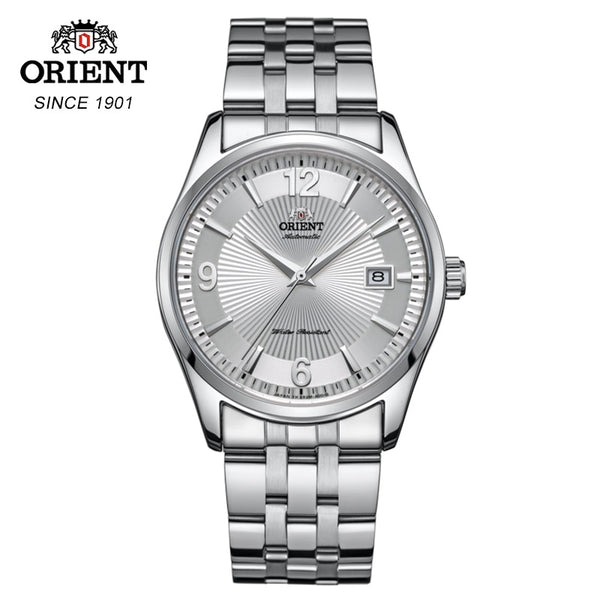 100% Orient Automatic Mechanical Watch Fashion Luxury Stainless Steel Male Clock data display Relogio Masculino Global Warranty