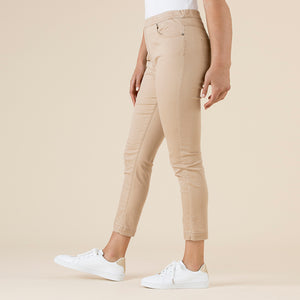 THREADZ - 5 Pkt pull-on stretch denim 7/8 pant