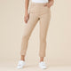 THREADZ - 5 Pkt pull-on stretch denim 7/8 Natural Pant