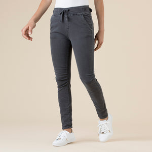 THREADZ - Jogger Pant - pull-on side pocket tapered pant