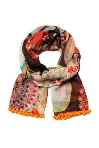 Desigual - Rectangle scarf 19WAWA17