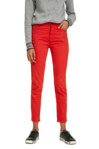 DESIGUAL - 5 Pkt Jean with embroidered detail