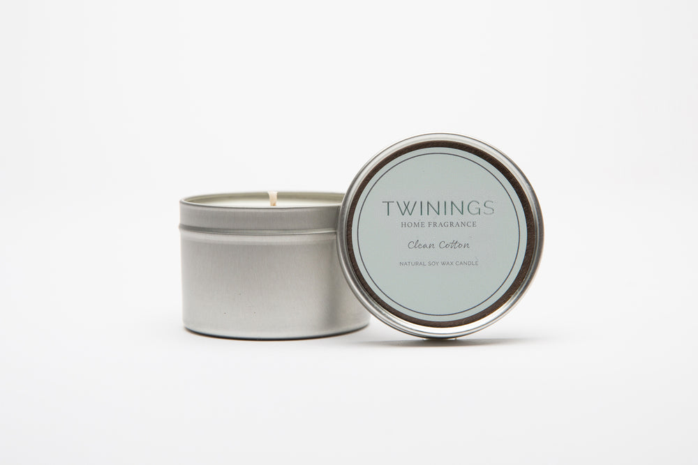 Clean Cotton Candle Tin