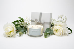 Lemongrass & Ginger Three Wick Candle