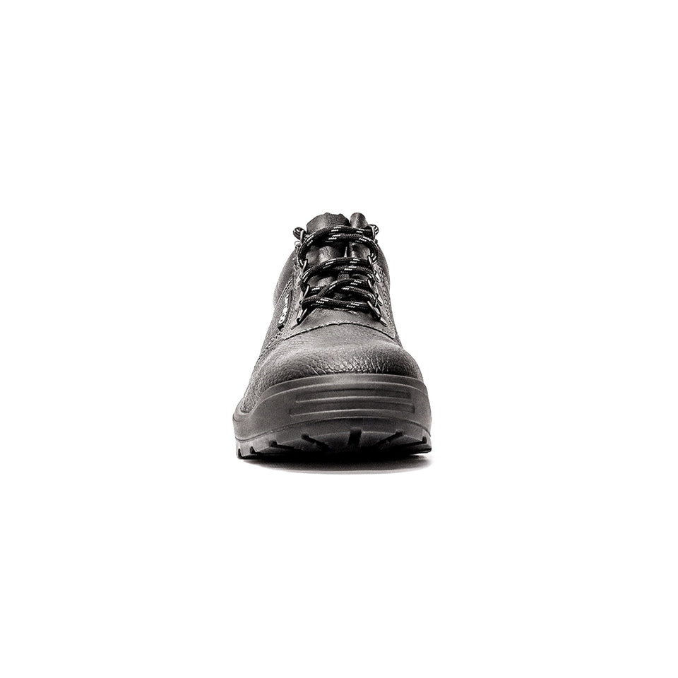 SUPER MEN'S LEATHER SAFETY SHOE
