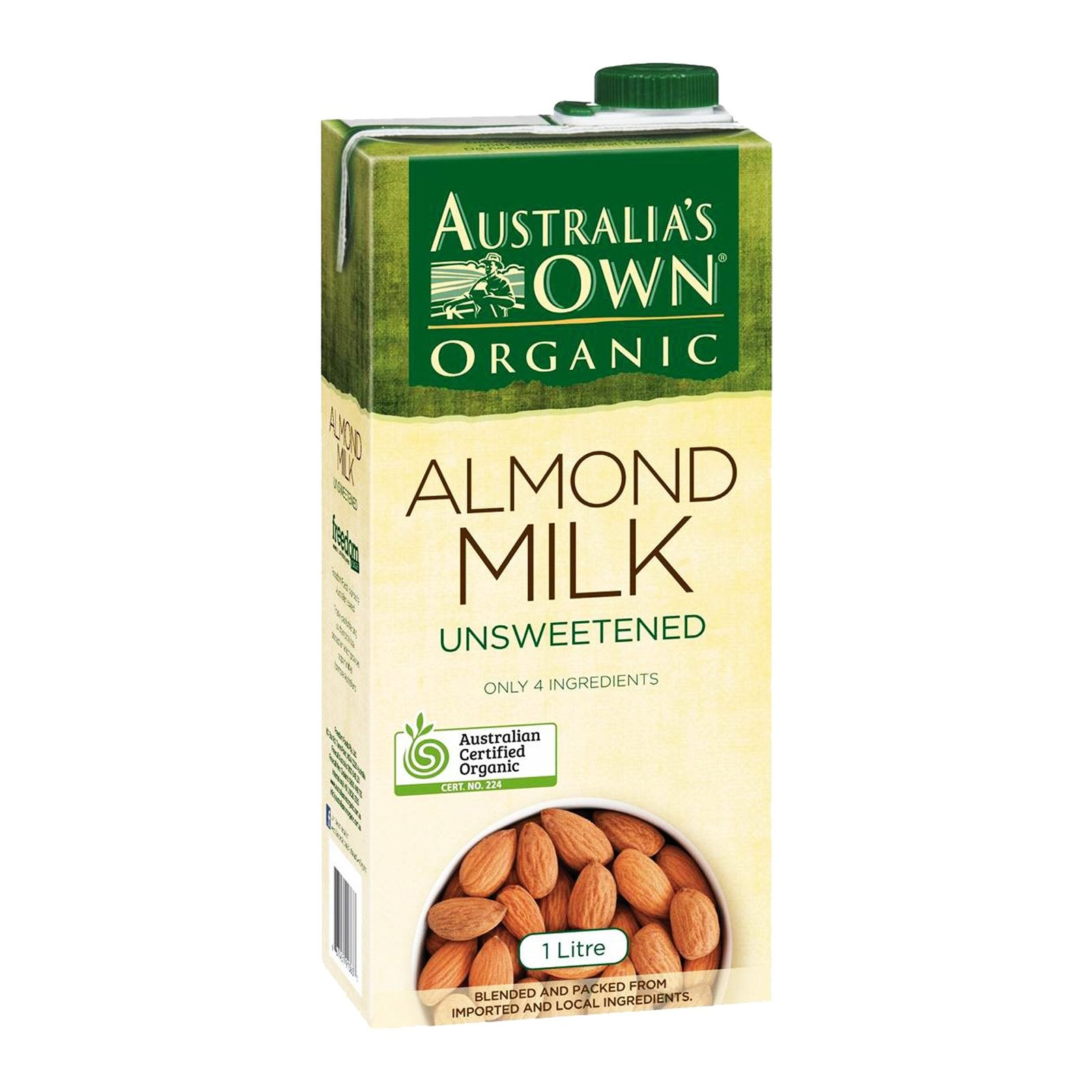 Australia's Own Almond Milk - rabbit-carrot-gun-market.com