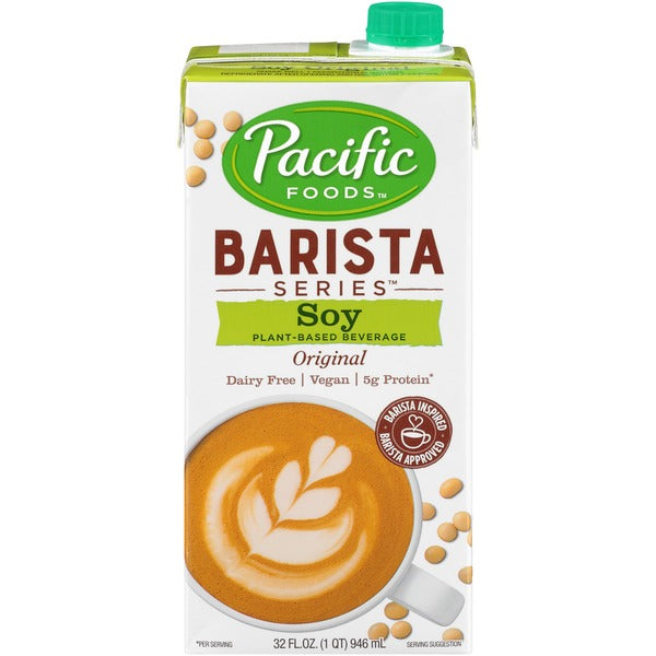 Pacific Barista Series Soy Milk - rabbit-carrot-gun-market.com