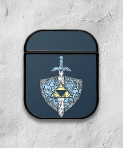 The Legend of Zelda Case for AirPods 1 2 3 Pro protective cover skin 01