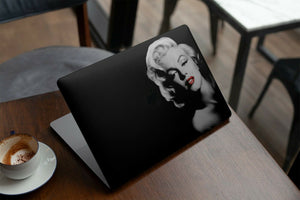 Model Marilyn Monroe MacBook case for Mac Air Pro M1 13 16 Cover Skin SN133