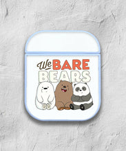Load image into Gallery viewer, We Bare Bears Case for AirPods 1 2 3 Pro protective cover skin 03