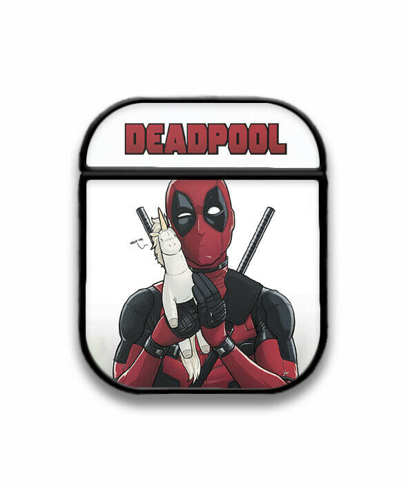 Deadpool Case for AirPods 1 2 3 Pro protective cover skin dp3