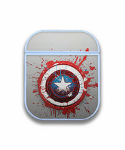 Load image into Gallery viewer, Captain America Case for AirPods 1 2 3 Pro protective cover skin ca3