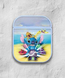 Stitch Disney Case for AirPods 1 2 3 Pro protective cover skin 03