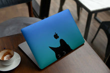 Load image into Gallery viewer, Cute Black Cat MacBook case for Mac Air Pro M1 13 16 Cover Skin SN77