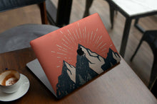 Load image into Gallery viewer, Nature Painted Mountain MacBook case for Mac Air Pro M1 13 16 Cover Skin SN151
