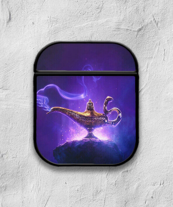 Aladdin Disney Case for AirPods 1 2 3 Pro protective cover skin 01