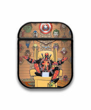 Load image into Gallery viewer, Deadpool Case for AirPods 1 2 3 Pro protective cover skin dp2