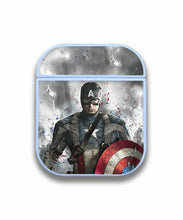 Load image into Gallery viewer, Captain America Case for AirPods 1 2 3 Pro protective cover skin ca2