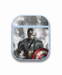 Captain America Case for AirPods 1 2 3 Pro protective cover skin ca2
