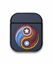 Load image into Gallery viewer, Iron Man Captain America Case for AirPods 1 2 3 Pro protective cover skin irm2