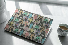 Load image into Gallery viewer, Cute Cat Pattern MacBook case for Mac Air Pro M1 13 16 Cover Skin SN76