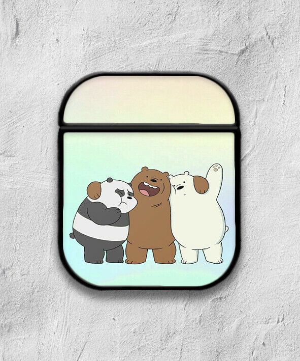 We Bare Bears Case for AirPods 1 2 3 Pro protective cover skin 01