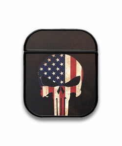 Punisher Case for AirPods 1 2 3 Pro protective cover skin pun1