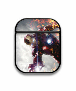 Iron Man Case for AirPods 1 2 3 Pro protective cover skin irm4