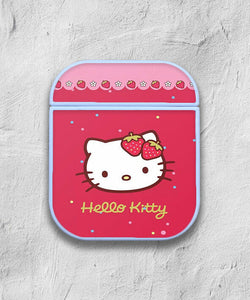 Hello Kitty case for AirPods 1 2 3 Pro protective cover skin 02