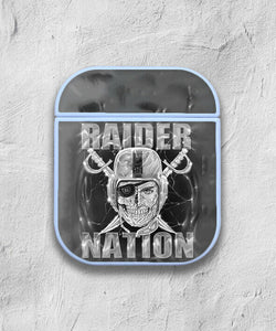 Oakland Raiders Case for AirPods 1 2 3 Pro protective cover skin okr5