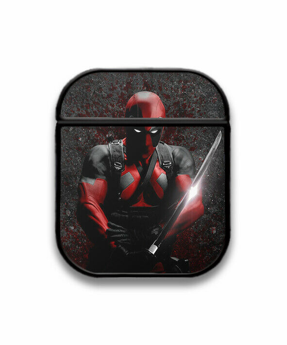 Deadpool Case for AirPods 1 2 3 Pro protective cover skin dp4