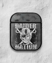 Load image into Gallery viewer, Oakland Raiders Case for AirPods 1 2 3 Pro protective cover skin okr5