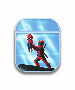 Spider-Man Case for AirPods 1 2 3 Pro protective cover skin spm5