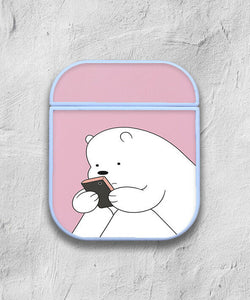 We Bare Bears Case for AirPods 1 2 3 Pro protective cover skin 02