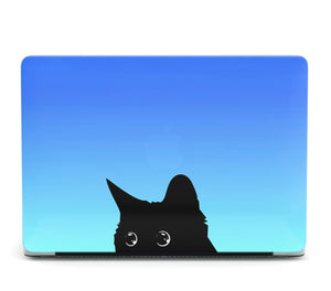Cute Black Cat MacBook case for Mac Air Pro M1 13 16 Cover Skin SN77
