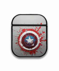 Captain America Case for AirPods 1 2 3 Pro protective cover skin ca3