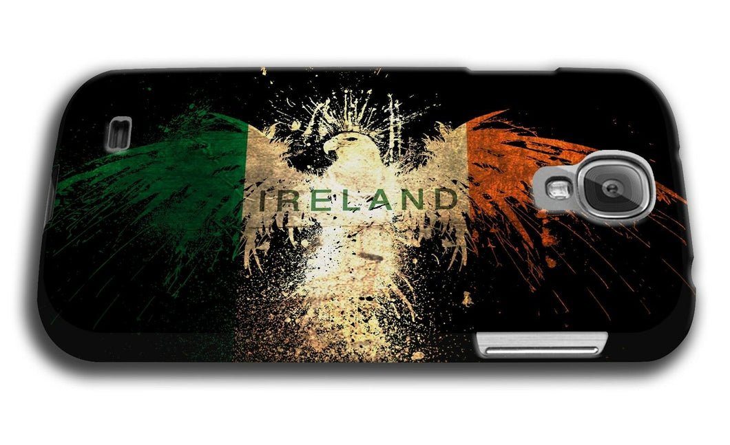 Ireland Irish Eagle Flag Samsung Galaxy S4 S5 S6 Edge Note 3 4 5 + Plus Case