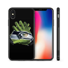 Load image into Gallery viewer, Seattle Seahawks case for iphone XR X XS Max 7 8 plus silicone cover 5 6