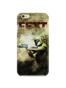 Star Wars 2015 Boba Fett Iphone 4 4s 5 5s 5c 6 6S 7 + Plus Case Cover 129