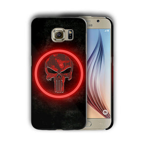 Super Hero Punisher Samsung Galaxy S4 5 6 7 8 9 10 E Edge Note Plus Case n12