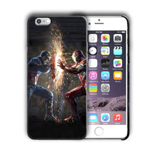 Load image into Gallery viewer, Super Hero Captain America Iphone 4s 5 5s 5c SE 6s 7 8 X XS Max XR Plus Case n3
