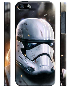 Star Wars Stormtrooper Logo Iphone 4 4s 5 5s 5c 6 6S 7 + Plus Case Cover 141