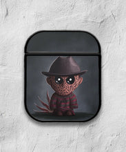 Load image into Gallery viewer, Halloween Freddy Krueger case for AirPods 1 or 2 protective cover skin 01