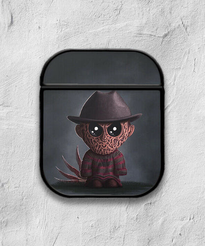 Halloween Freddy Krueger case for AirPods 1 or 2 protective cover skin 01