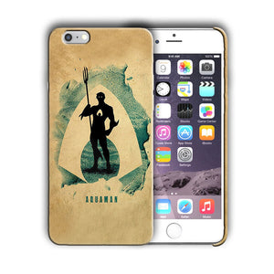 Super Hero Aquaman Iphone 4 4s 5 5s 5c SE 6 6s 7 8 X XS Max XR Plus Case n8