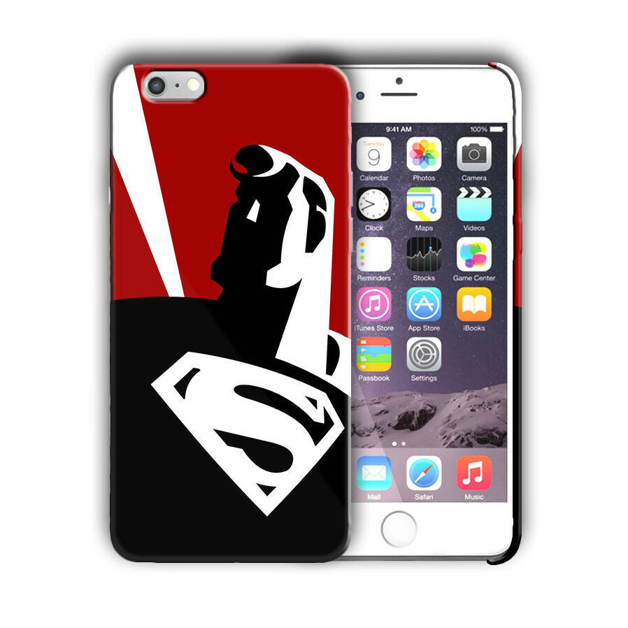 Super Hero Superman Iphone 4s 5 SE 6 6s 7 8 X XS Max XR 11 Pro Plus Case n12